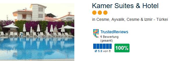 Günstiges Hotel während der Ferien in der Türkei
