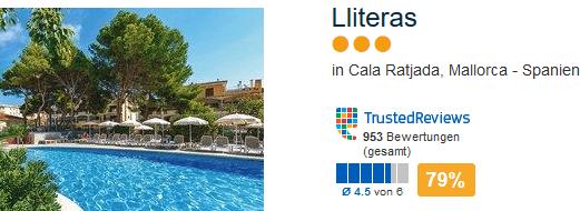 Günstigste Hotel im Ort schon ab 158,00€ 5 Tage Pauschal
