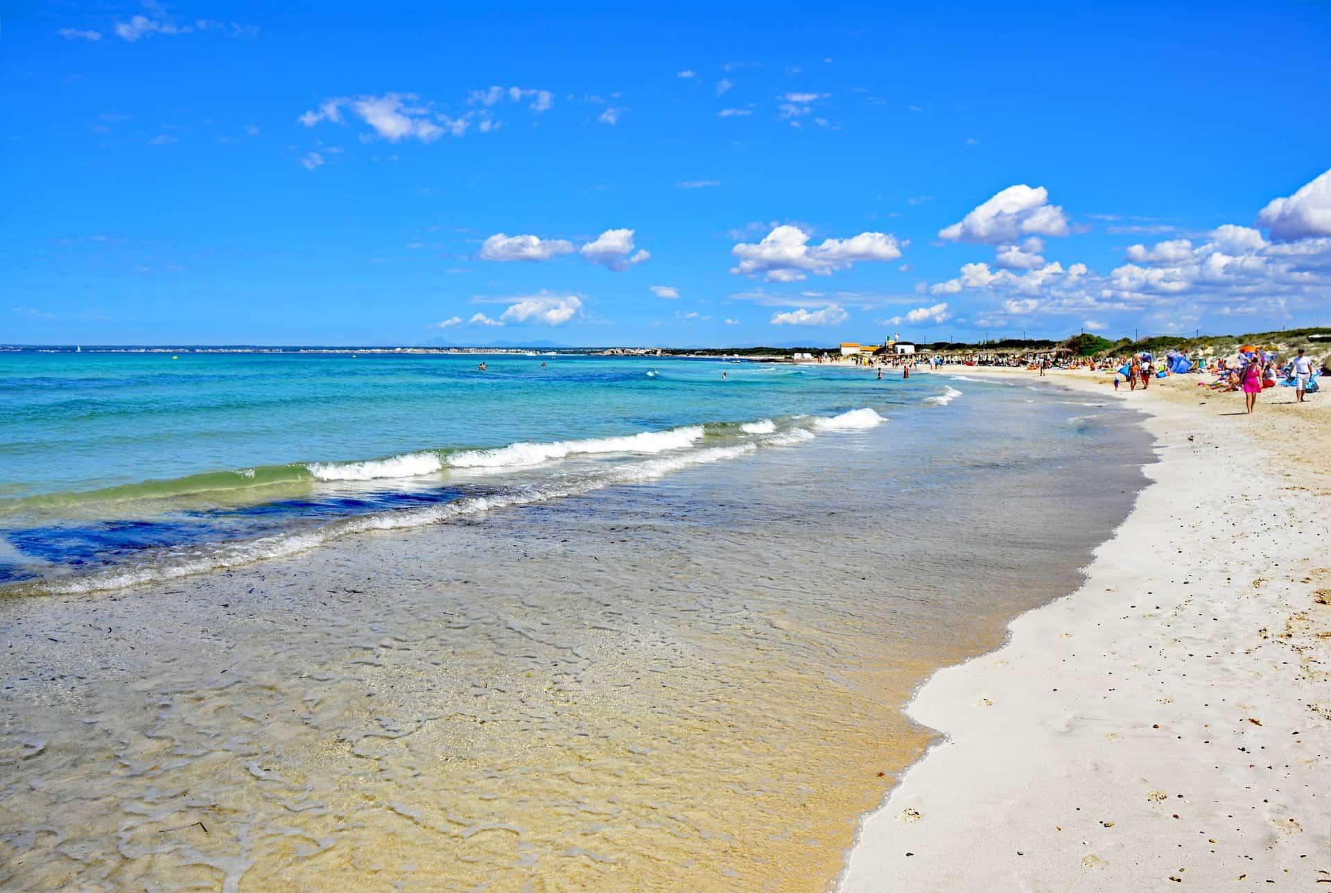 Mallorcas schönsten Strände - Urlaub auf den Balearen am Strand von Es Trenc