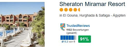 Sheraton Miramar Resort - El Gouna 5 Sterne Hotel