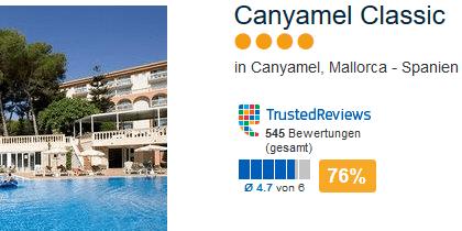 Tagesaktuelle Angebot das günstige 4 Sterne Hotel
