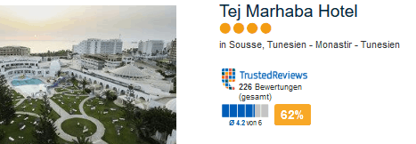 Tunesien Monastir 4 Sterne Hotel