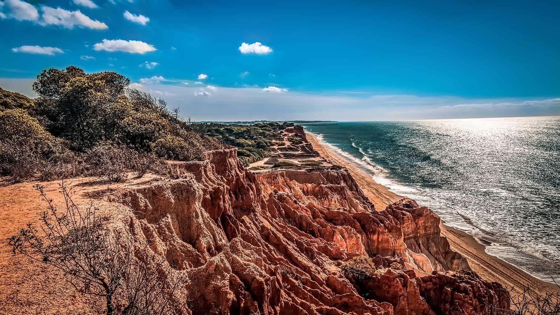 Urlaub Algarve die wilde Küste des Südens