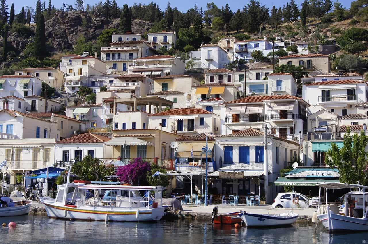 Griechenland Insel - Poros Urlaub