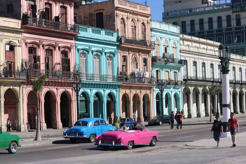 Eine einzigartige Architektur bietet diese Stadt in der Karibik