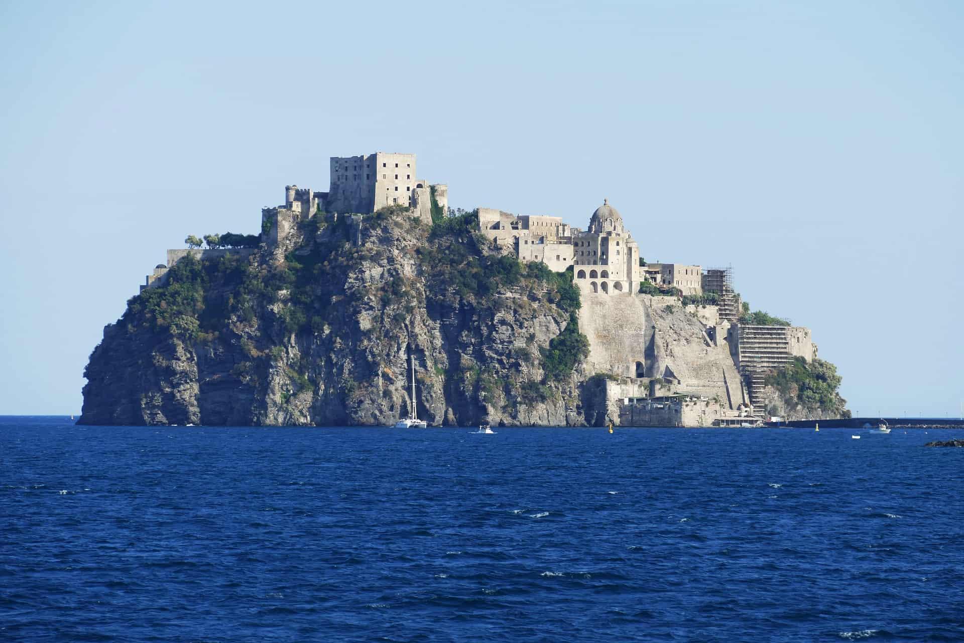 Ischia die Region bei Neapel