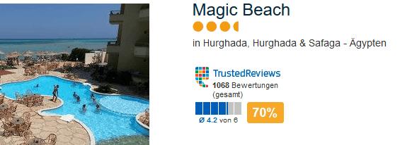 Hurghada Deals - Ferien im 4 Sterne Hotel 1 Woche nur 206,51€