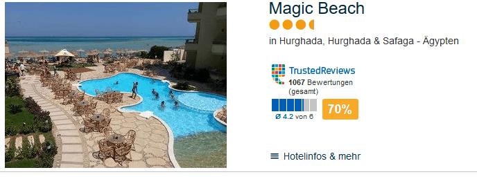 Magic Beach Hotel zum Tiefpreis buchen - Poolbar