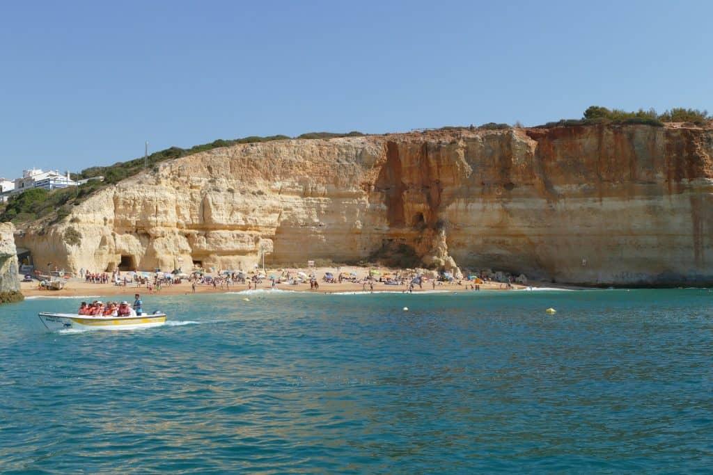 Algarve - Quarteira Urlaub Südküste Portugals bietet Europas schönste Strände