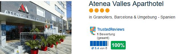Atenea Valles Aparthotel 4 Sterne