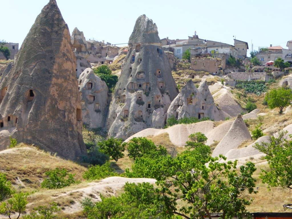 Auch in Izmir findet man ähnliche Konstrukte wie in Kappadokkien