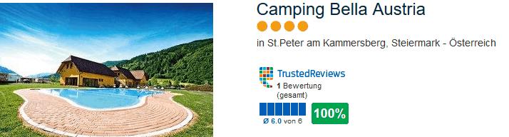 Camping Bella Austria - günstig Urlaub in Steiermark