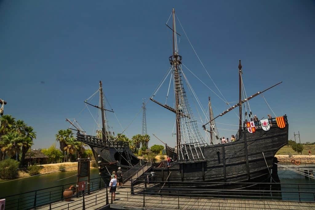 Das Kolumbus Schiff entdecken mit Last Minute Costa de la Luz