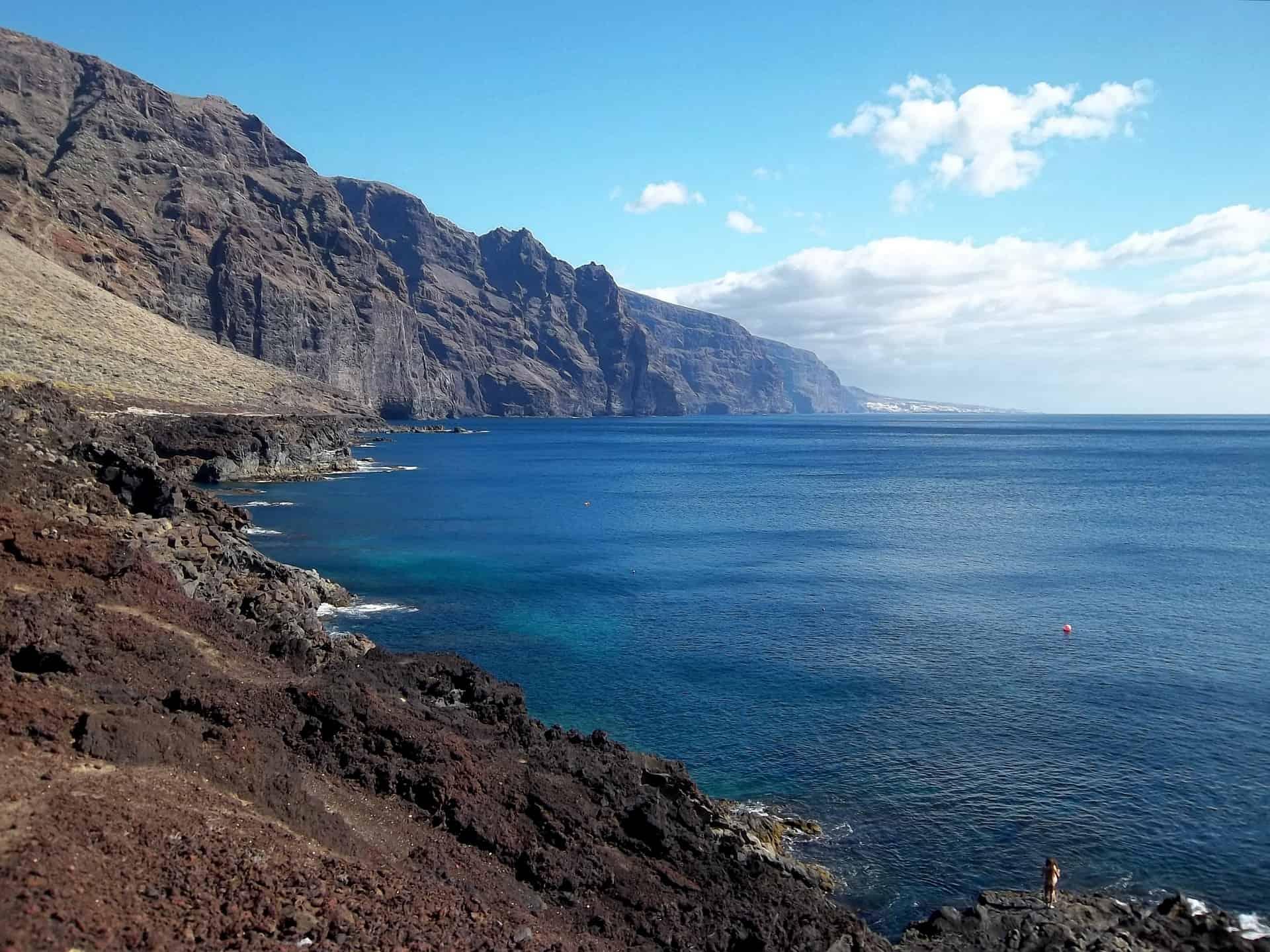 Die Steilküste bei Puerto de la Cruz ist wunderschön, perfekt zum wandern geeignet#