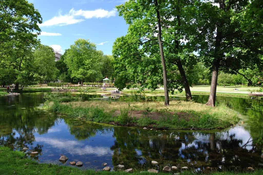 Ein wunder schöner Stadtpark mitten im Zentrum
