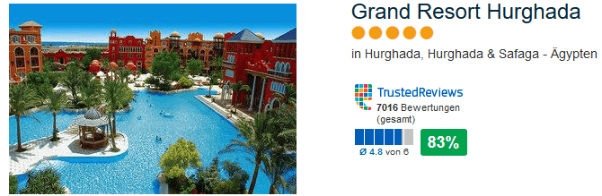 Grand Resort Hurghada 5 Sterne Hotel - meiner Meinung nach das beste !