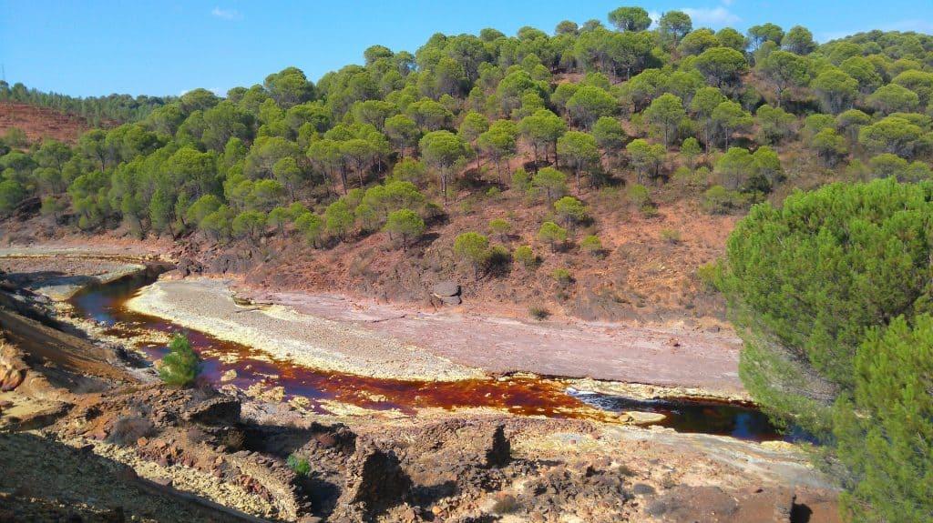 Rio Tinto ein Naturspektakel inmitten Sapniens