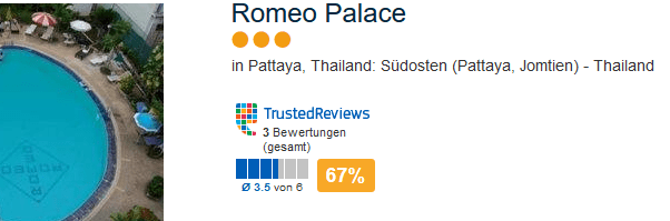 Romeo Palace in Thailand