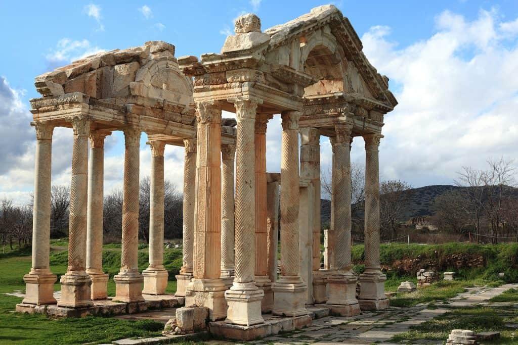 Ruinen aus der Zeit der Römer