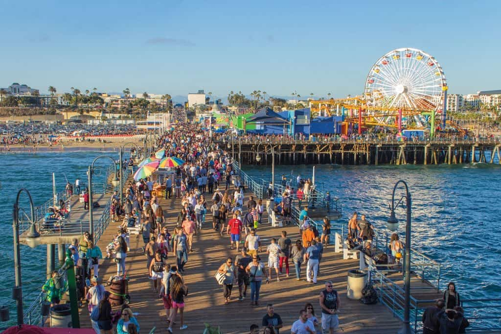 Santa Monica Pier - Los Angeles Urlaub