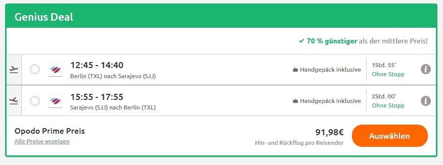 Screenshot Deal Herceg Novi - Urlaub an der Adria nur 184,48€ Montenegro
