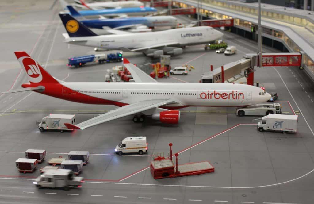 Speicherstadt - Modelflughafen mit 40 Flugzeugen