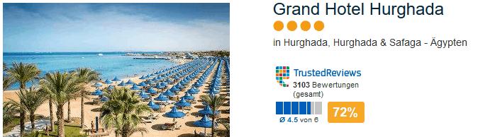 4 Sterne Grand Hotel mit direkter Strandlage