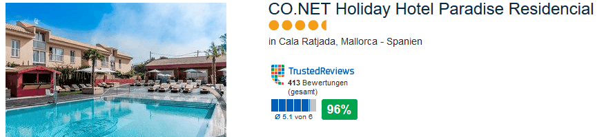 CO. NET Holiday Hotel Paradise Residencial