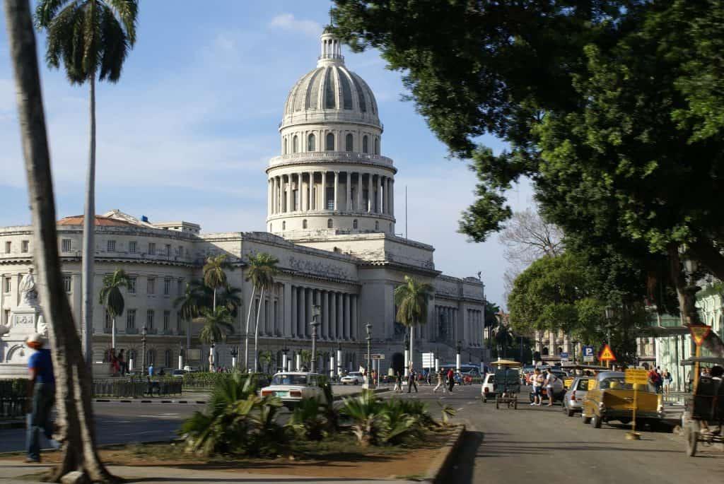 Capitol im Zentrum der Hauptstadt