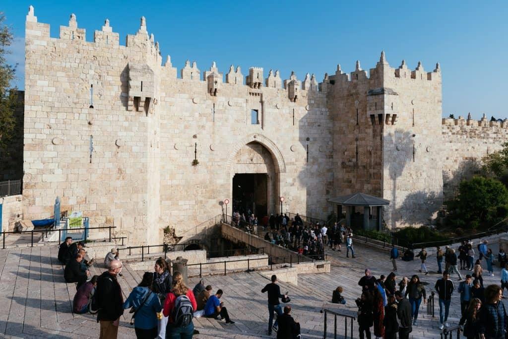 Damascus Gate es erwarten zahlreiche historische Sehenswürdigkeiten im Hotel selber gibt es einen Guide
