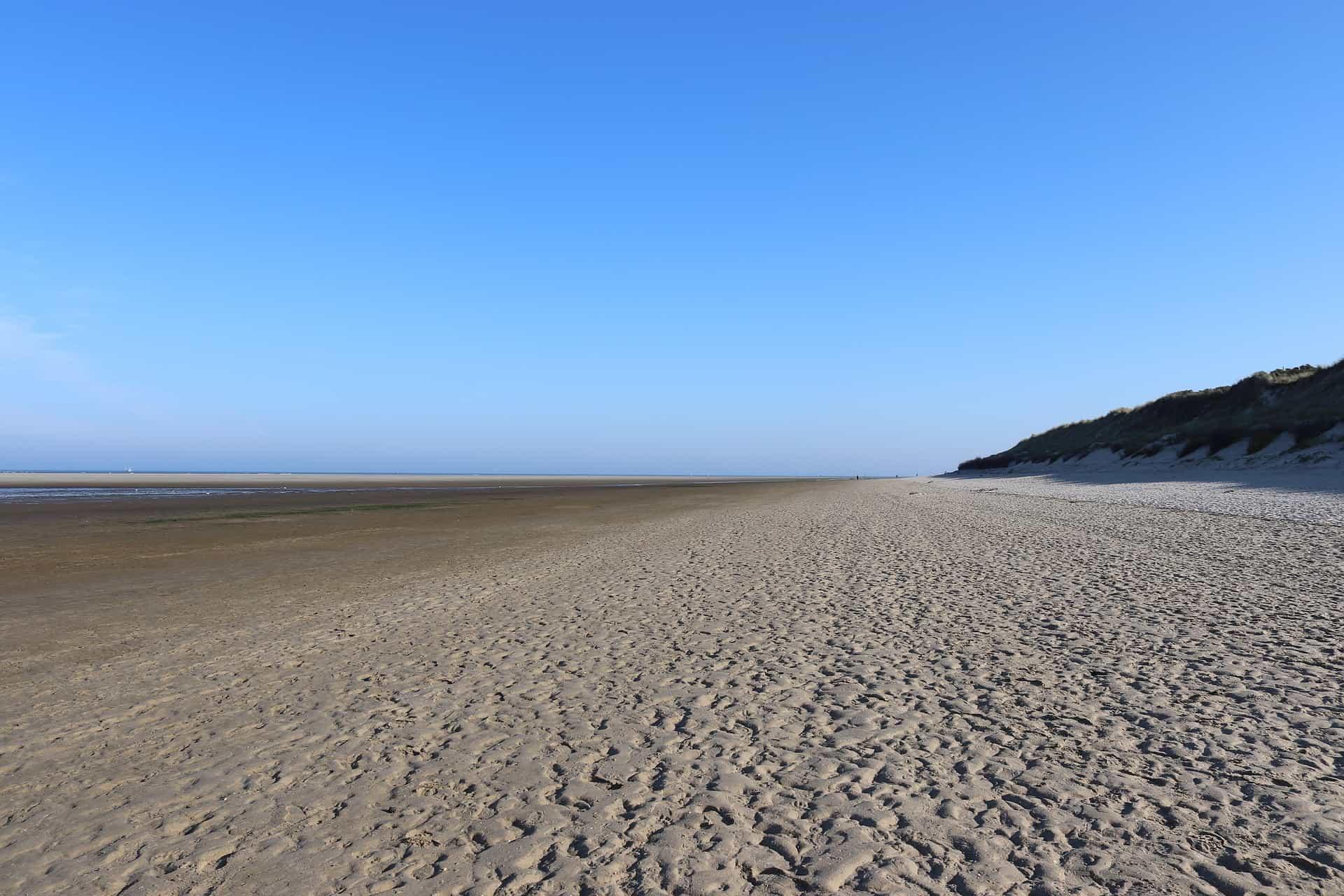 Das Watten Meer im Ostfriesland