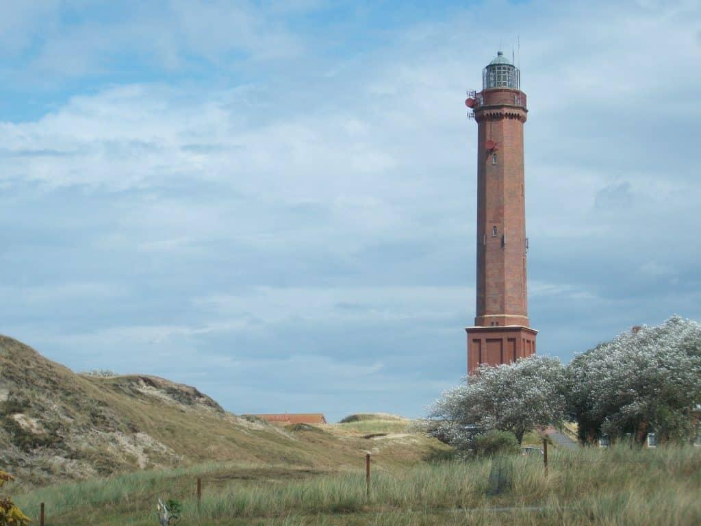 Der Leuchtturm der Insel