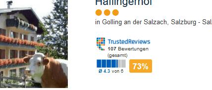 Haflinger Hof - bei Salzburg eine Woche nur 194,00€