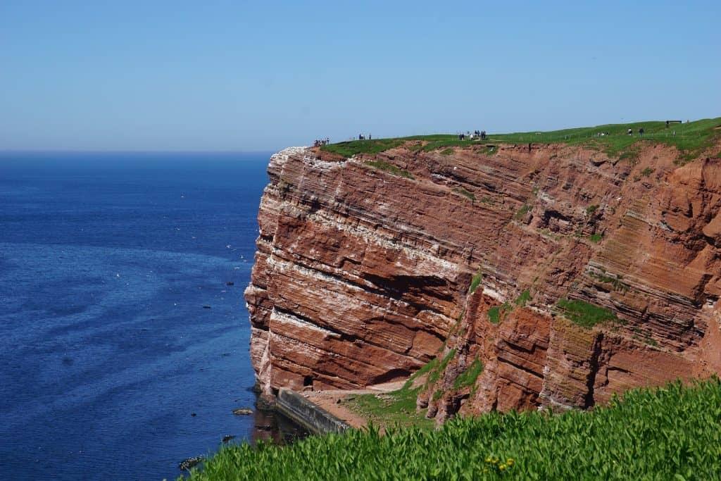 Helgolands Steilküsten für Naturliebhaber sollte das die erste entscheidung sein für einen Inselurlaub in Deutschland