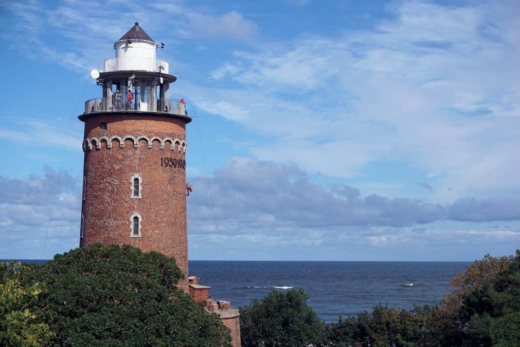 Leuchtturm der Stadt - Kurort an der Ostsee