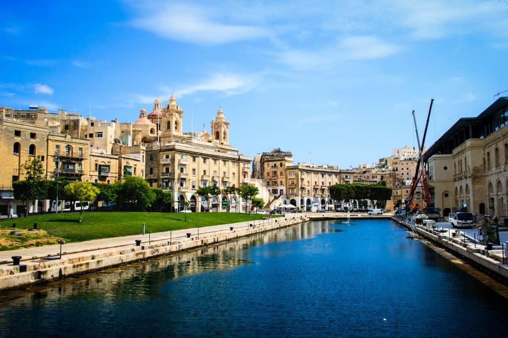 Malta - Valetta die Hauptstadt der Inselgruppen