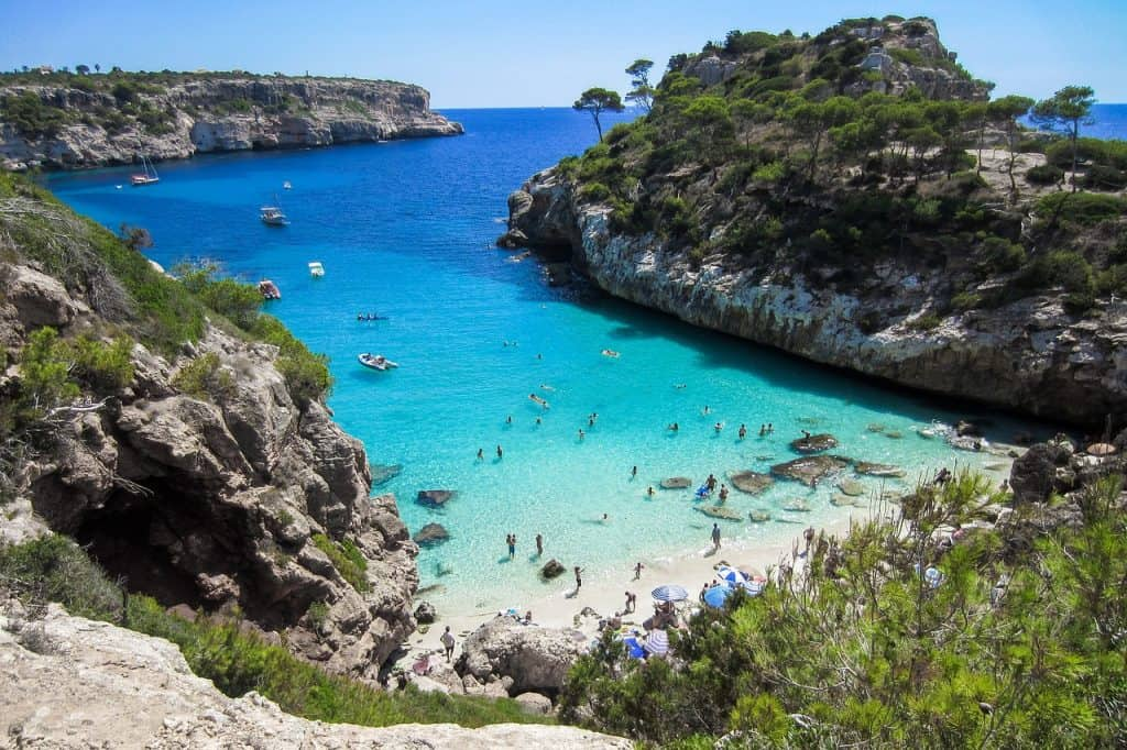 Unzählige Traumhafte Buchten erwarten euch auf den Balearen