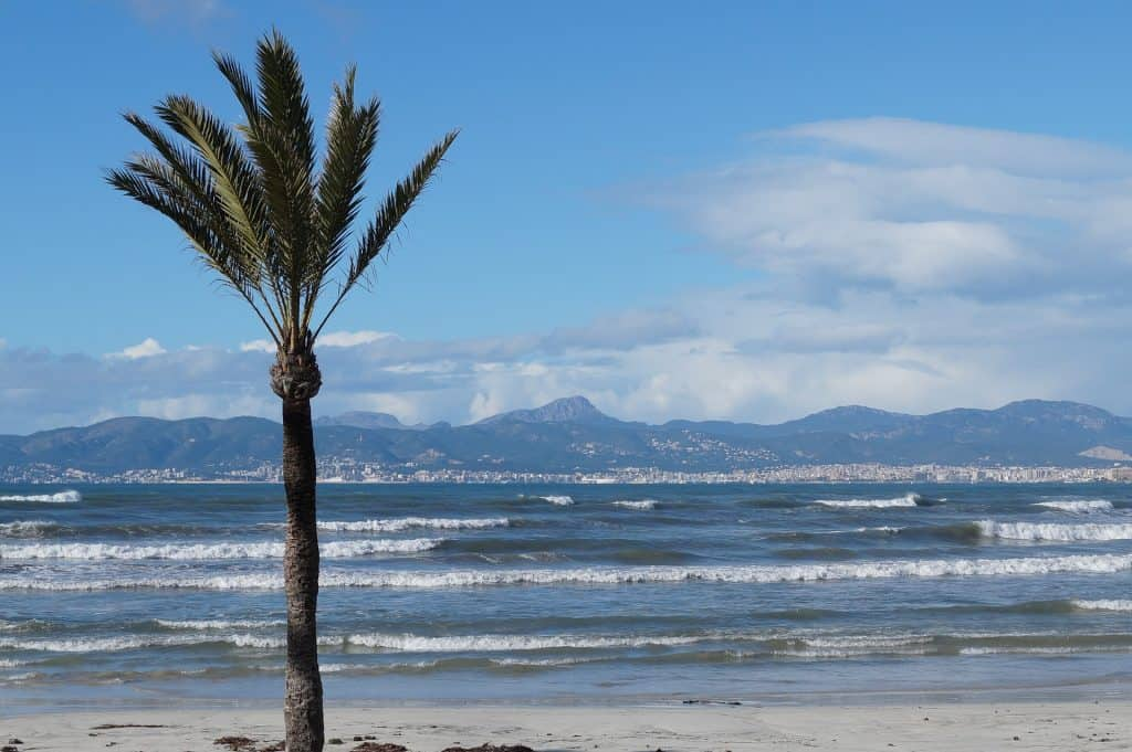 Playa de Palma im Winter