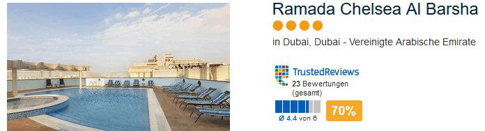 Ramada Chelsea Al Barsha 4 Sterne Hotel