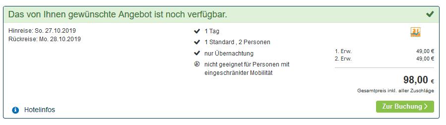 Screenshot Deal Borkum Urlaub - ab 48,00€ die Nacht ostfriesische Insel