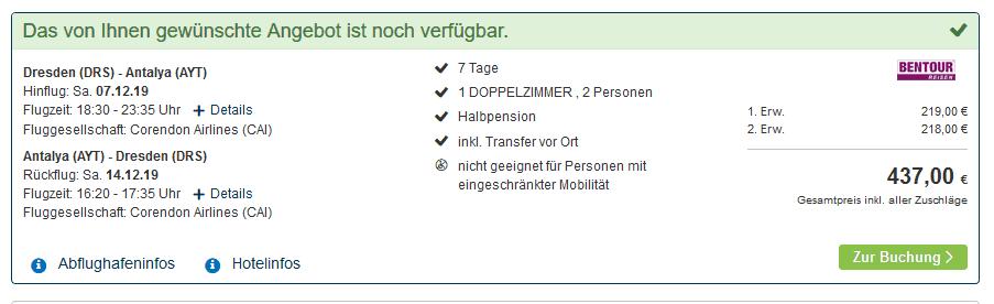 Screenshot Deal Kappadokien Rundreise - nur 219,00€ 1 Woche Pauschal Türkei