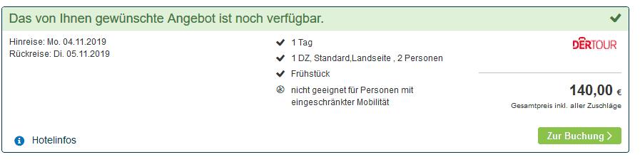 Screenshot Deal Norderney Urlaub - Nacht im 4 Sterne Hotel ab 70,00€ Heimatliebe