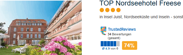 Top Nordseehotel Freese
