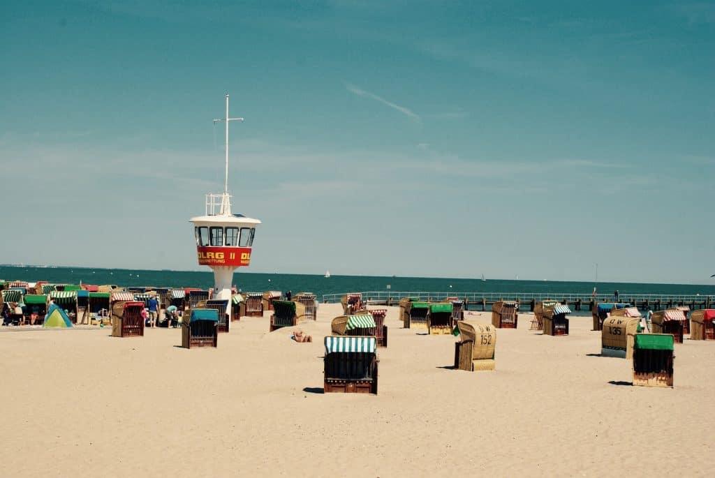 Wochenende an die Nordsee - in Lübcker erwartet euch ein feinsandiger Sandstrand in Travemünde