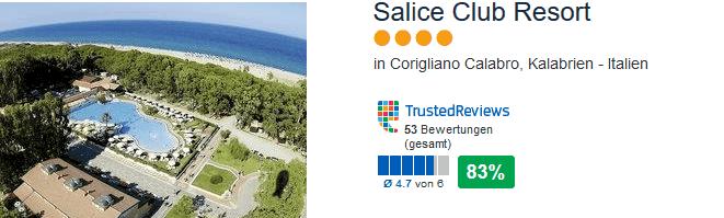 4 Sterne Hotel in Kalabrien ab München machst du Urlaub zum Tiefpreis !