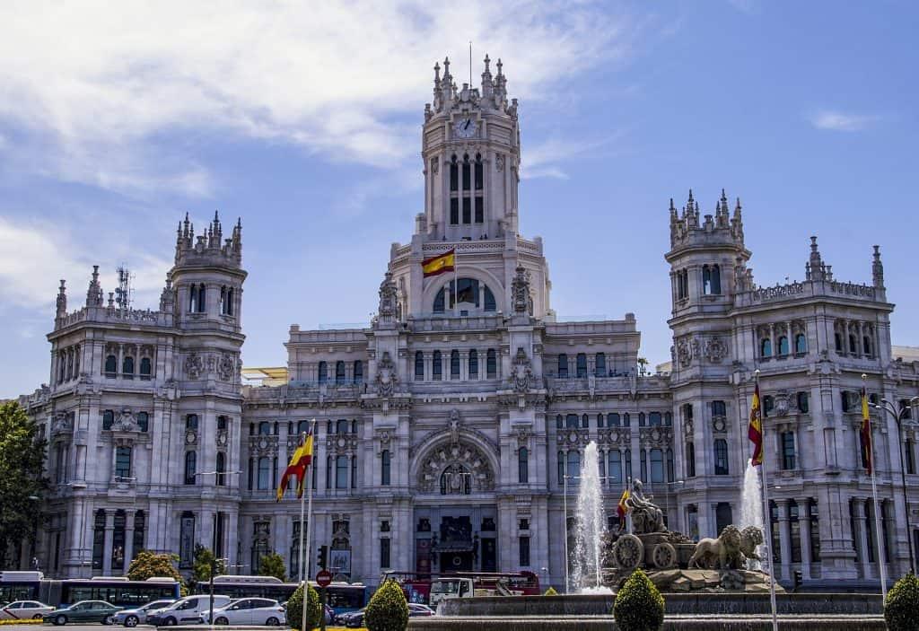 Das Rathaus der Hauptstadt Spaniens