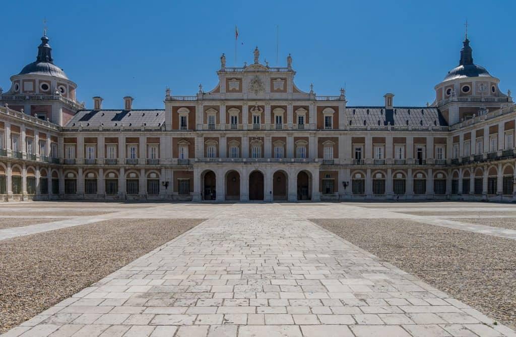 Der Palast der Königsfamilie.