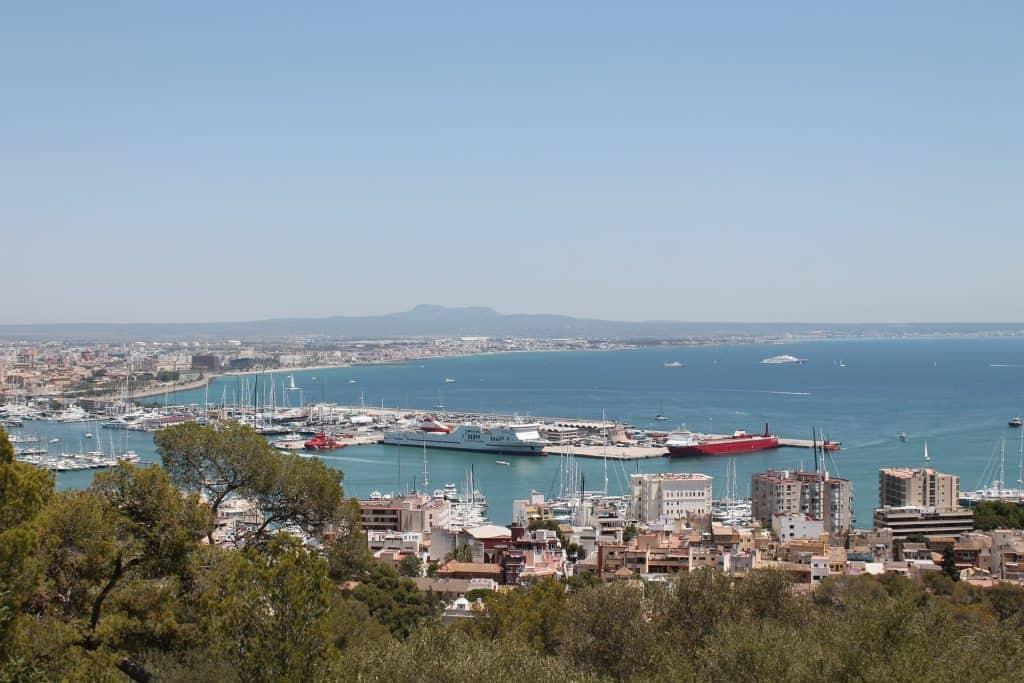 Die Bucht von Palma gönn dir einen Urlaub zum Saisonende