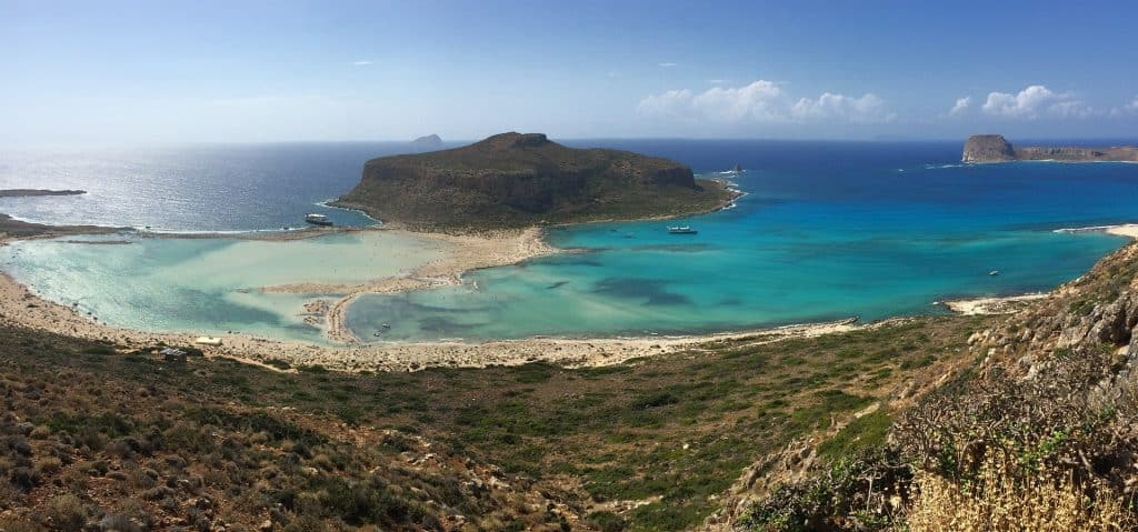 Die grüne Insel und 5 größte im Mittelmeer