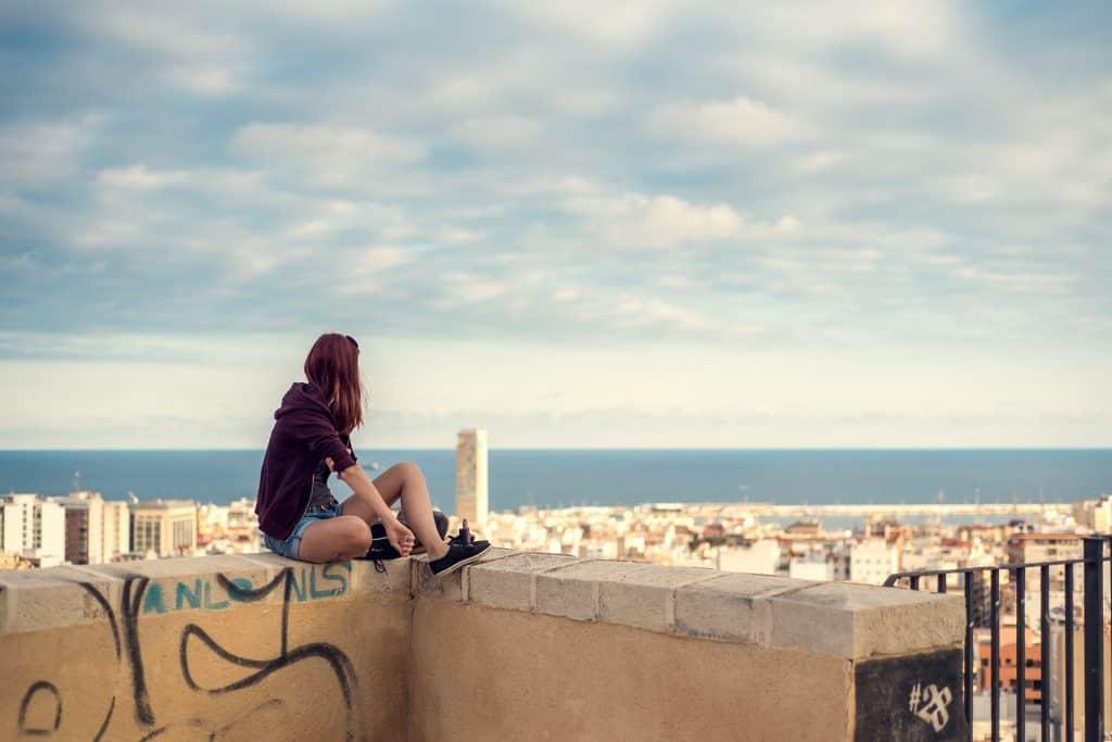 Flüge nach Spanien günstigen Urlaub machen auf dem Festland dank der Billigairlines diese Sicht genießen